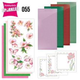 Sparkles Set 55 - Jeanine's Art - Pink Flowers SPDO053