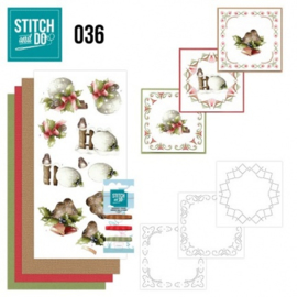 Stitch and Do 36 - Kerstversieringen STDO036