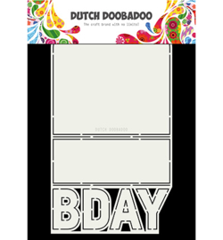 Dutch Doobadoo Card Art B-day 470.713.698