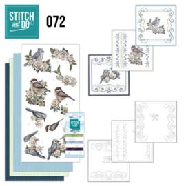 Stitch and Do 72 AD Vintage Winter STDO072