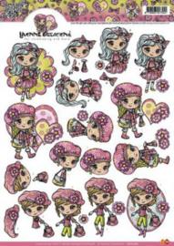 Yvonne Creations - Fashion Girls CD10280