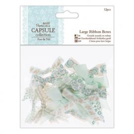 Large Ribbon Bows Eau de Nil PMA367212