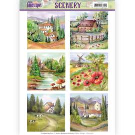Die Cut Topper - Scenery Amy Design - Spring Landscapes 2 CDS10011