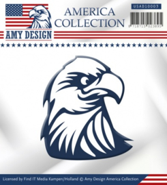 Die - Amy Design - America Collection - Eagle USAD10003