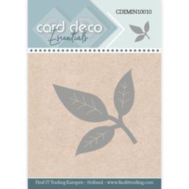 Card Deco Essentials - Mini Dies - Leaf CDEMIN10010