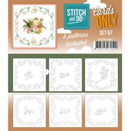 Cards Only Stitch 4K - 67 COSTDO10067