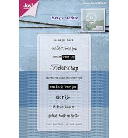 Joy Clearstempel - Mery's Sterkte/Beterschap 6410/0479