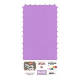 Frame Cards - Lovely - Vierkant - Lila FC4K1000417