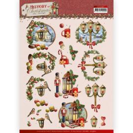 3D Cutting Sheet - Amy Design - History of Christmas - Christmas Lanterns CD11687 - HJ19601