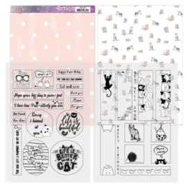 Mica Sheets - Amy Design - Cats World ADMC1005