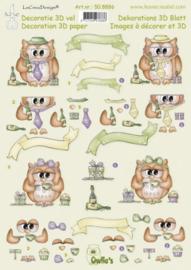 3d knipvel Leane Owls 50.8886