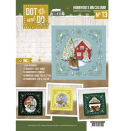 Dot and Do on Colour 13 - Jeanine's Art - Christmas Cottage DODOOC10013