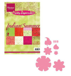 Collectables - col1316 + Papierblok Indian Summer
