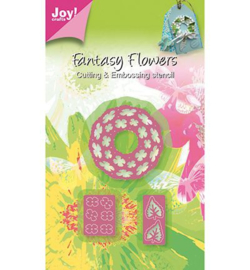 Joy crafts snij- en embossing Fantasy Flowers 6002/0266