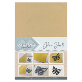 Card Deco Essentials - Glue Sheets  CDEGS001