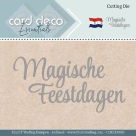 Card Deco Essentials - Dies - Magische Feestdagen CDECD0080