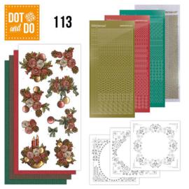 Dot and Do 113-  Christmas Flowers DODO113