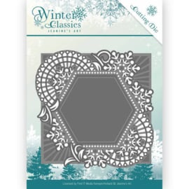 Die - Jeanine's Art - Christmas Classics - Mosaic frame JAD10015