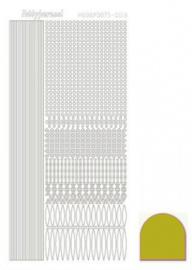 Hobbydots sticker Mirror Yellow 003 STDM03E