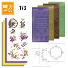Dot and Do 173 - Precious Marieke - Spring Delight DODO173