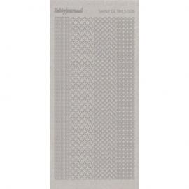 Shiny Details - Flowers - Zilver SDS006TZ
