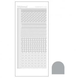 Hobby dots sticker Mirror Silver 019 STDM198