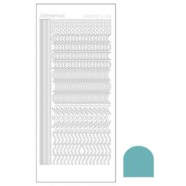 Hobbydots sticker - Mirror Emerald 020 STDM20I