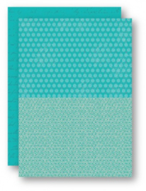Background Sheets A4 turquoise dahlia NEVA047