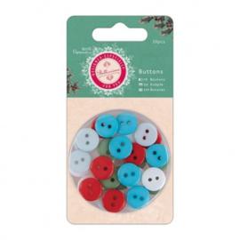 Buttons Bellissima Christmas (30pcs) PMA 354091