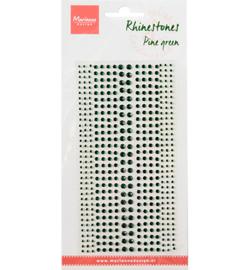 MD CA3161 - Rhinestones, Pine green