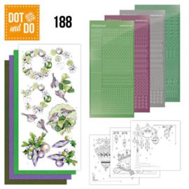 Dot and Do 188 - Jeanine's Art - Purple Christmas Baubles DODO188