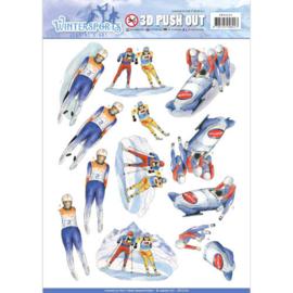 Pushout - Jeanine's Art - Wintersports - Biathlon SB10229