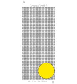 Nellie`s Choice CrossCraft stickers yellow CRST015