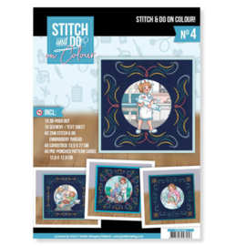 Stitch and Do on Colour 004 - Yvonne Creations - Bubbly Girls Professions STDOOC10004