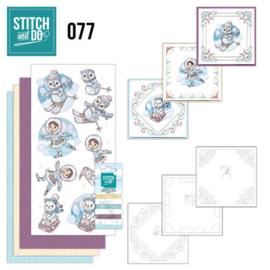Stitch and Do 77 - Winter Fun STDO077
