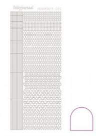Hobbydots sticker Adhesive White 005 STDA050