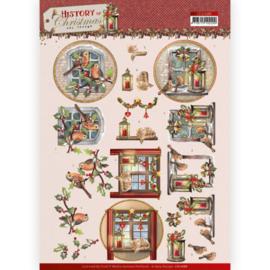 3D Cutting Sheet - Amy Design - History of Christmas - Christmas Window CD11686