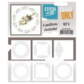 Stitch & Do - Cards Only - 4k - Set 3 COSTDO10003