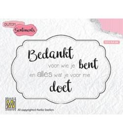 Nellie Dutch Sentiments SENC010
