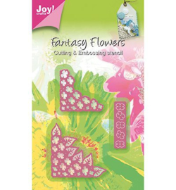 Joy crafts snij- en embossing Fantasy Flowers 6002/0267