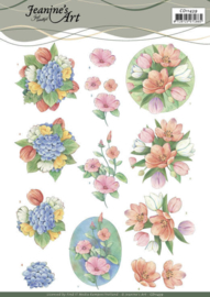 3D Cutting Sheet - Jeanine's Art - Tulips and more CD11439