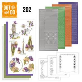 Dot and Do 202 - Precious Marieke - Beautiful Garden - Butterfly DODO202