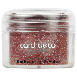 Card Deco Essentials - Embossing Powder Glitter Red 30 Gr CDEEP007