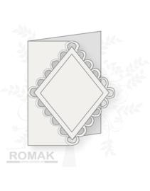 Romak  Kaart Wit 3 stuks K3-289-21