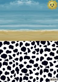 Background sheets - Yvonne Creations - Summer Holiday SETBGS10002