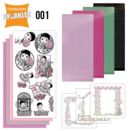 Sparkles Set 1 Pierrot SPDO001