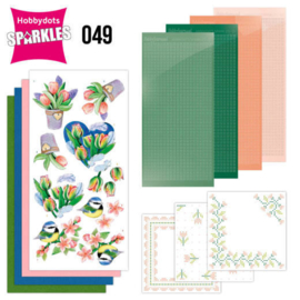 Sparkles Set 49 - Jeanine's Art - Tulips and Blossom  SPDO049