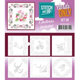 Cards only Stitch 39 - 4k -  COSTDO10039