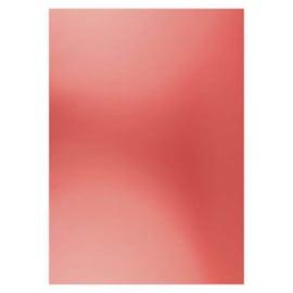 Card Deco Essentials - Metallic cardstock - Christmas red CDEMCP007