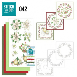 Stitch and Do 42 - White Christmas Flowers STDO042